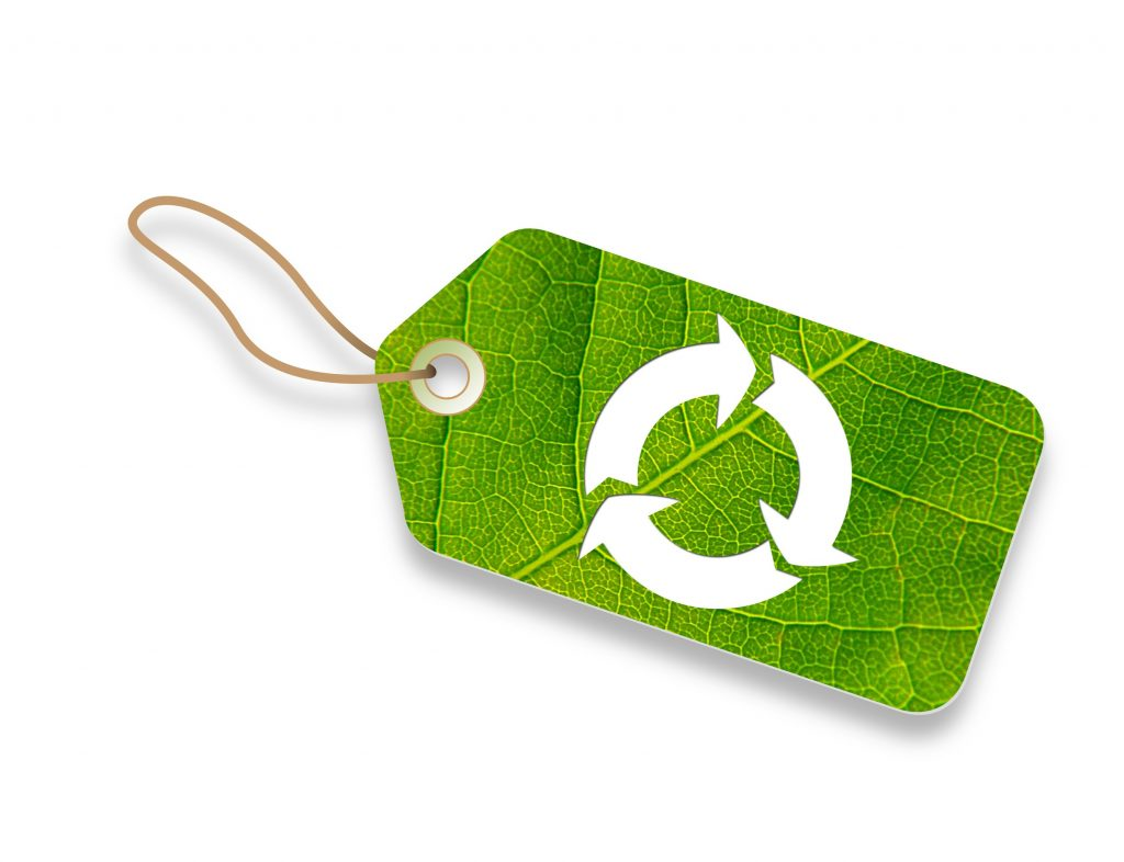 sustainable purchasing tag